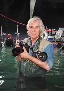 Douglas Kirkland on the set of Titanic - by Scott Browning