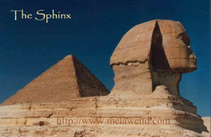 bbbb - Sphinx and Pyramid