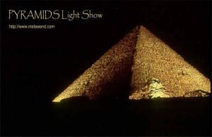 bbbbbbbb - Pyramid night light show