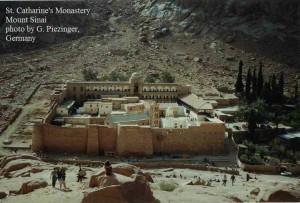 c - St. Catherine monastery Sinai