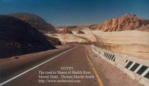 cc - Road south into Sinai