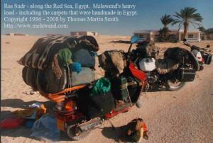 d - melawend load carpets to Sinai  BMW