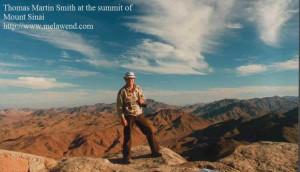 ddd - Tom atop Mount Sinai