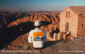 dddd - Tom atop Mount Sinai - Hiker's Haven