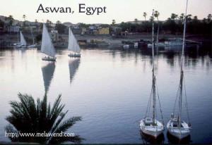 dddddddddd - Nile fellucas near Asswan