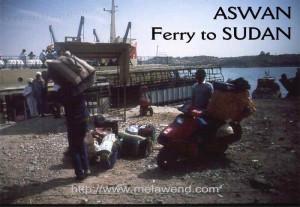 ddddddddddd - Melawend to board ferry to Sudan