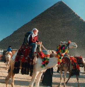 EGYPT PYRAMIDS Tom Lawrence of Arabia1