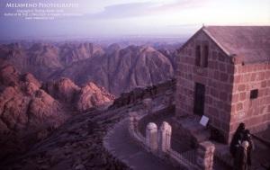 EGYPT - Sinai 1 - Sunset atop Mt. Sinai