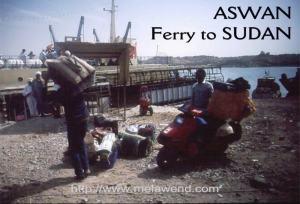 EGYPT - ferry to Wadi Halfa 2