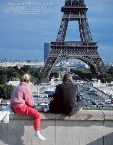 FRANCE PARIS couple