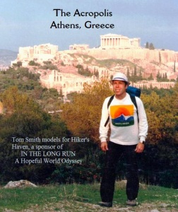 GREECE ATHENS The Acropolis, Athens, Greece - Tom Smith models for sponsor.