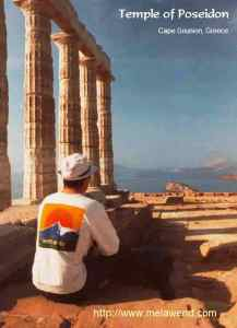 GREECE SOUNION ssssssss - me temple of poseidon Hiker's