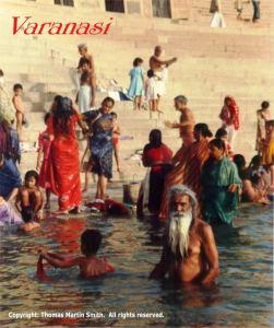 INDIA VARANASI Varanasi - Bathing in the Ganges - Copy