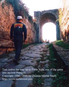 ITALY POMPEII Porta Nola