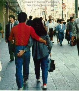 JAPAN Tokyo - love on the Ginza