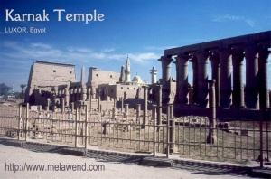 Karnak - Luxor - Melawend