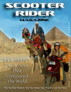 MELAWEND - b1 - Scooter Rider Magazine - Summer 2003 cover