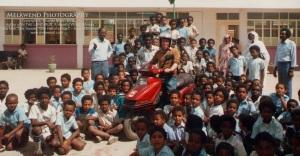SUDAN Tom and Melawend at Khartoum North School aa