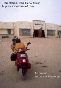 SUDAN Wadi Halfa train station - Melawend