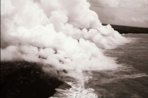 TR 16 & 17 - Hawaii 2 - clouds lava
