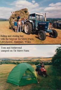 WALES Tir Mawr Farm, Llwydcoed, Aberdare, Wales