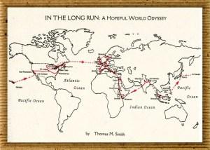 Map of Tom Smith's World Odyssey