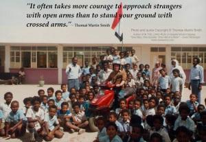 SUDAN Open and crossed arms - Khartoum School