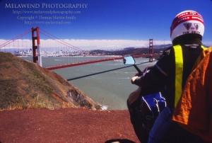 USA - SF - FB - 1 - Tom and Melawend at the GG Bridge